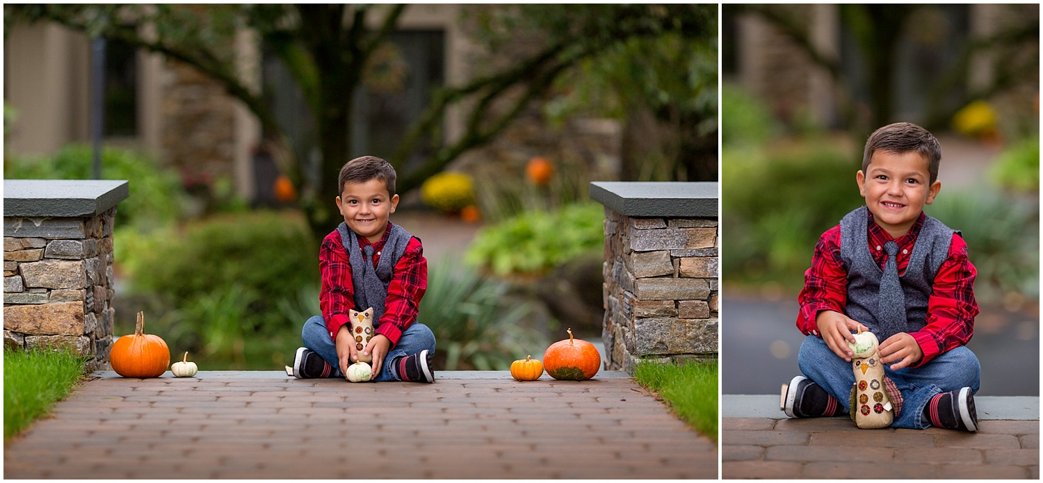 Leesport Pennsylvania Fall Child Photoshoot