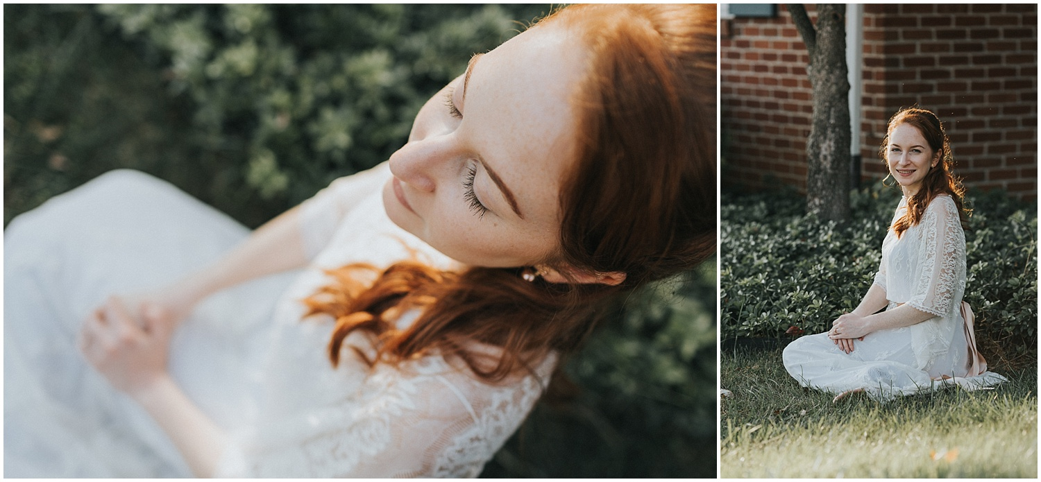 Berks County Pennsylvania Backyard DIY Wedding Photographer