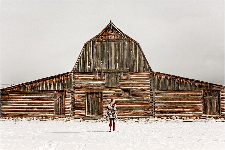 Jackson Hole Wyoming High School Senior Portrait Photographer