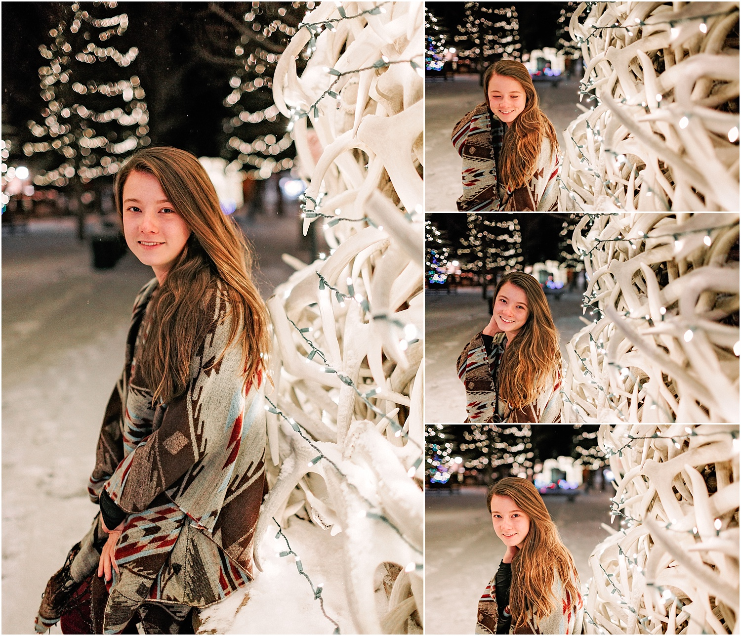 Jackson Hole Wyoming High School Senior Portrait Photographer