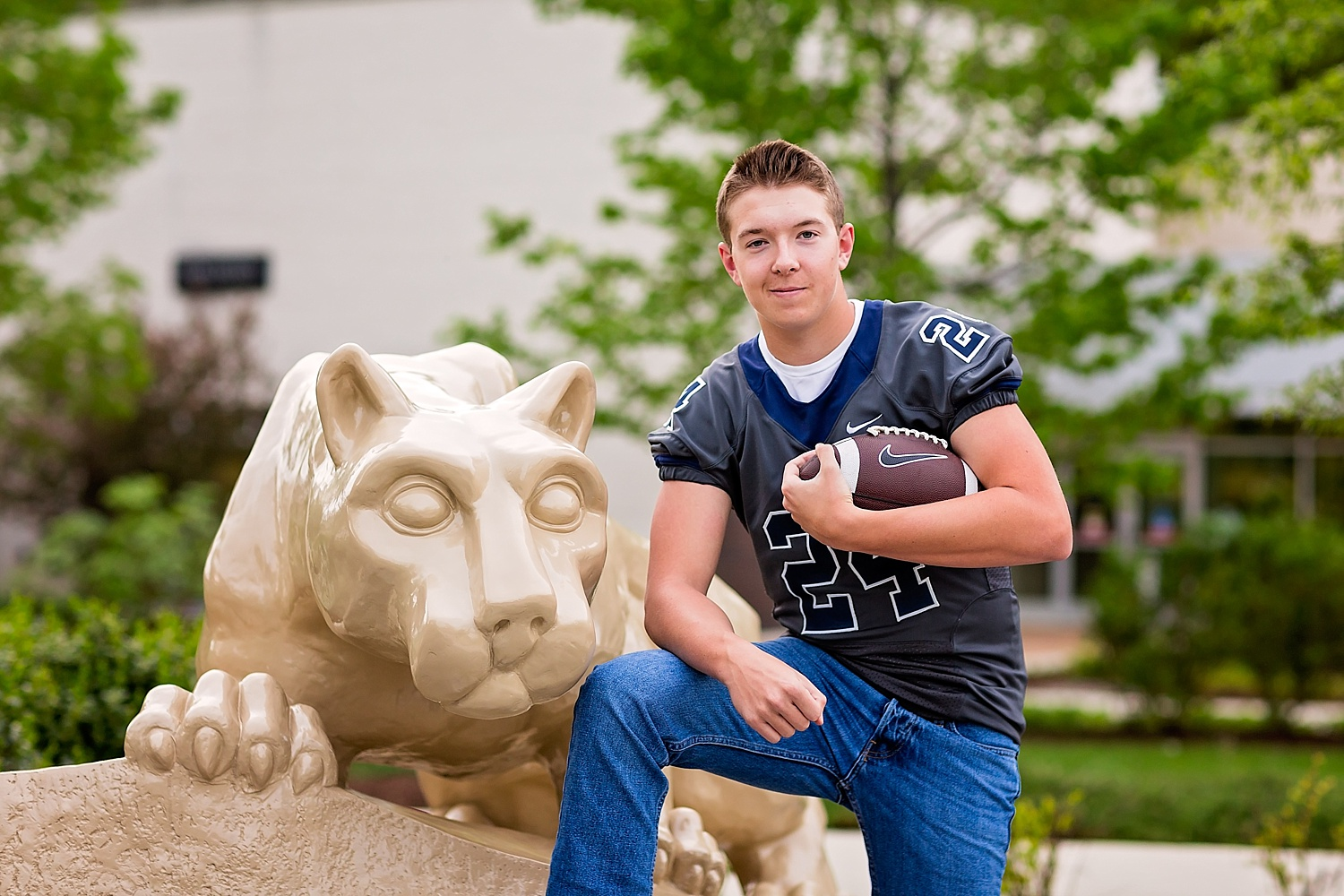 Penn State Berks high school senior photographer