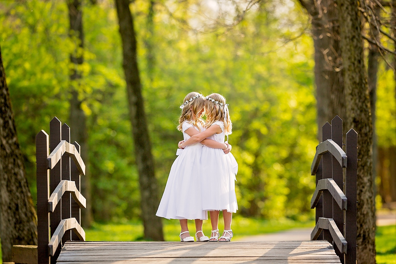 Wyomissing Pennsylvania First Communion Photoshoot