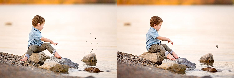 Blue Marsh Lake Berks County Child Photoshoot