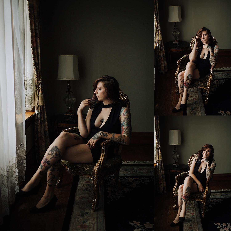 Reading Berks County Pennsylvania Mansion Boudoir Photographer