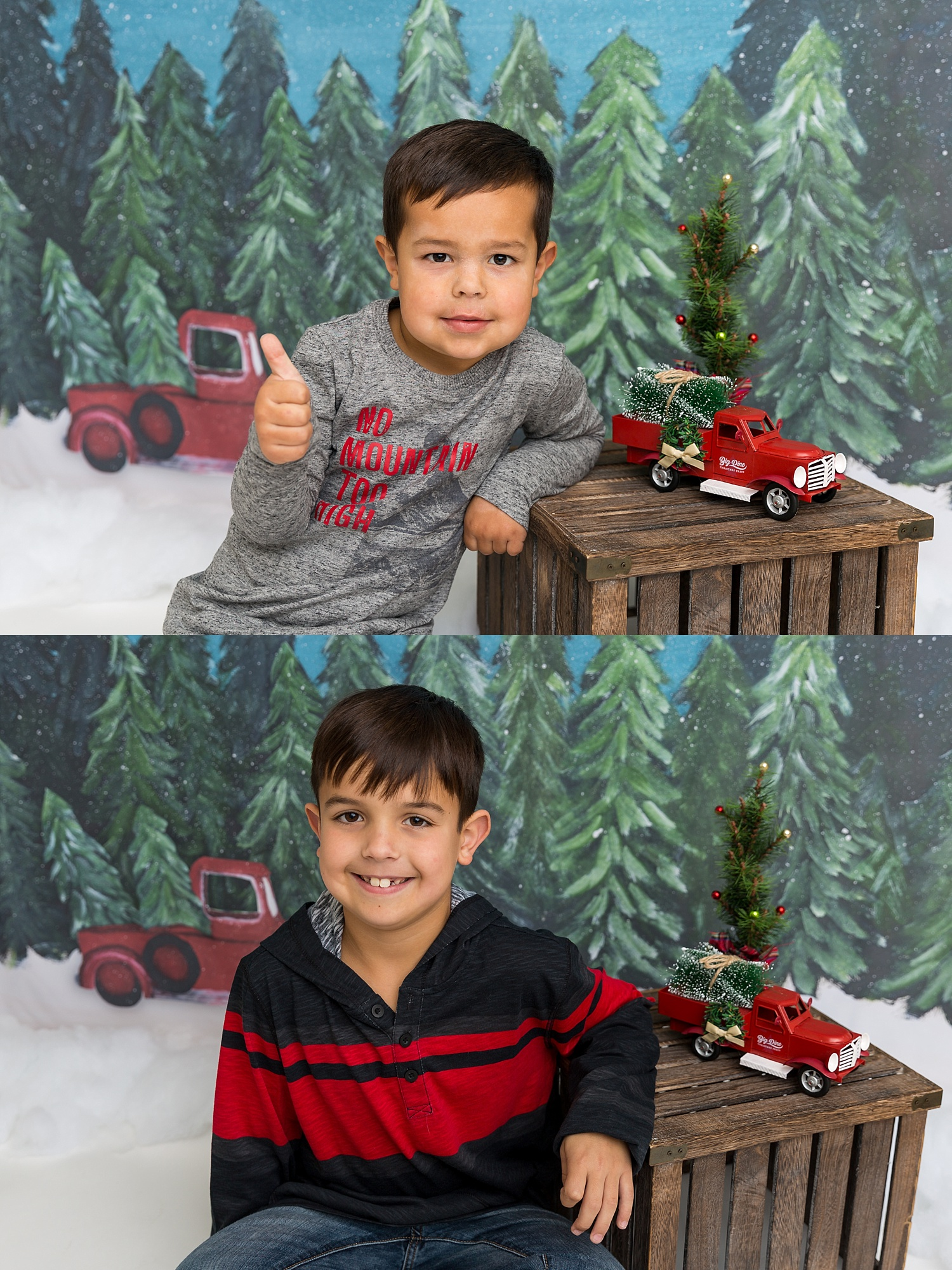 GoggleWorks Studio Reading Pennsylvania Child Family Christmas Photographer