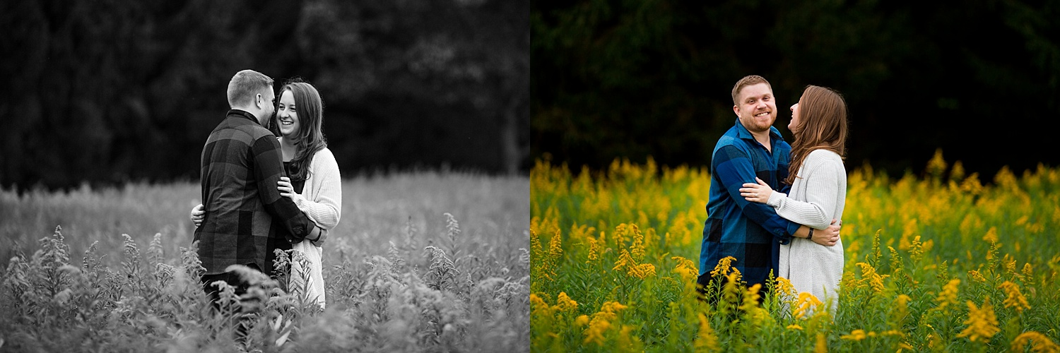 Highlands Wyomissing Fall Engagement Photoshoot