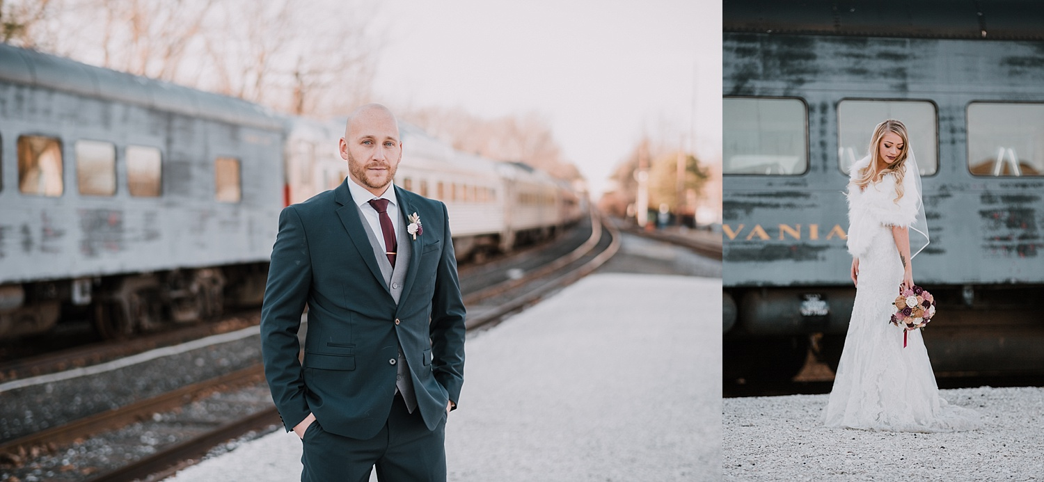 Everly at Railroad Tuckahoe New Jersey wedding photographer