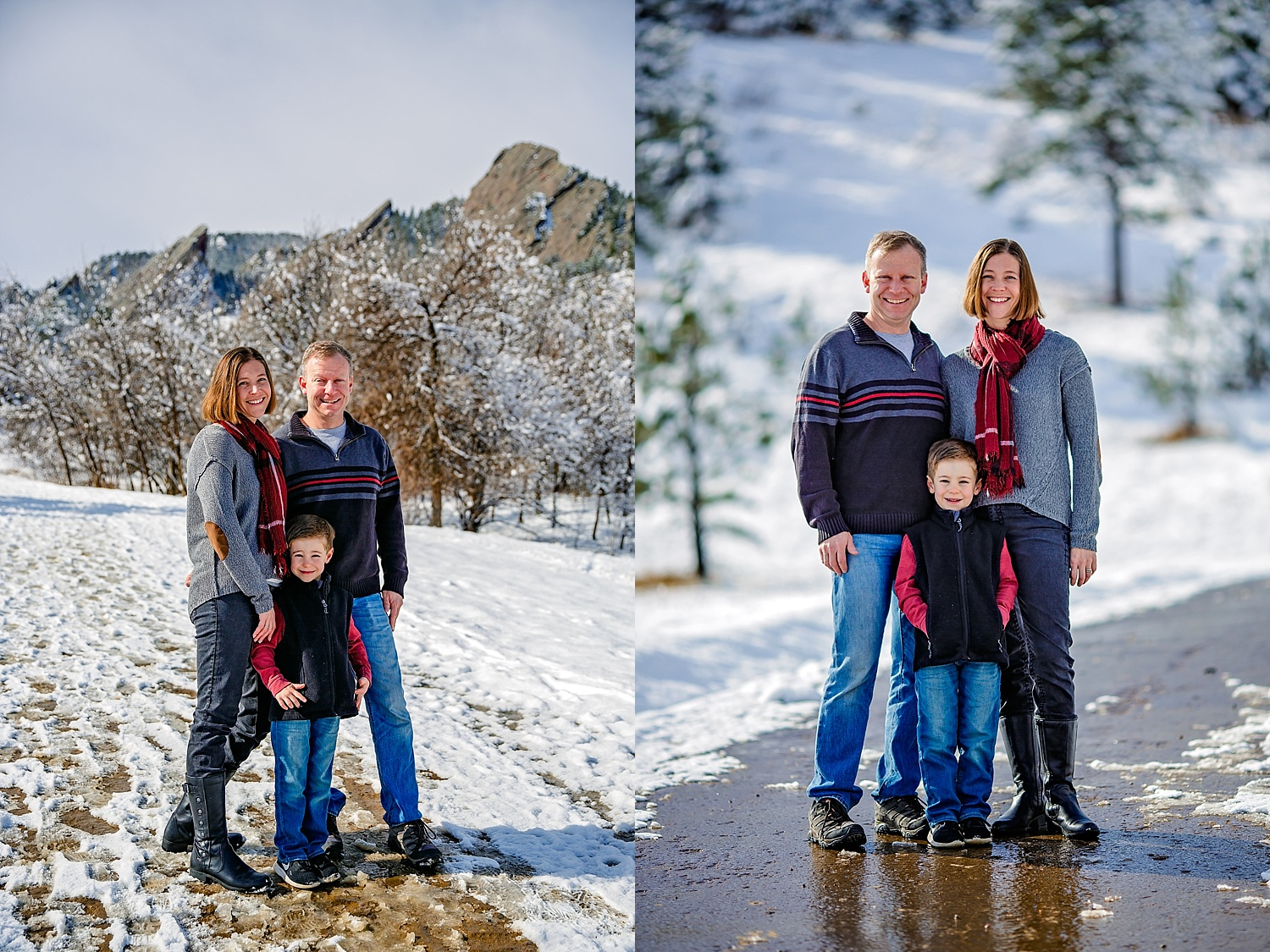 Boulder Colorado Family Photographer Flatirons