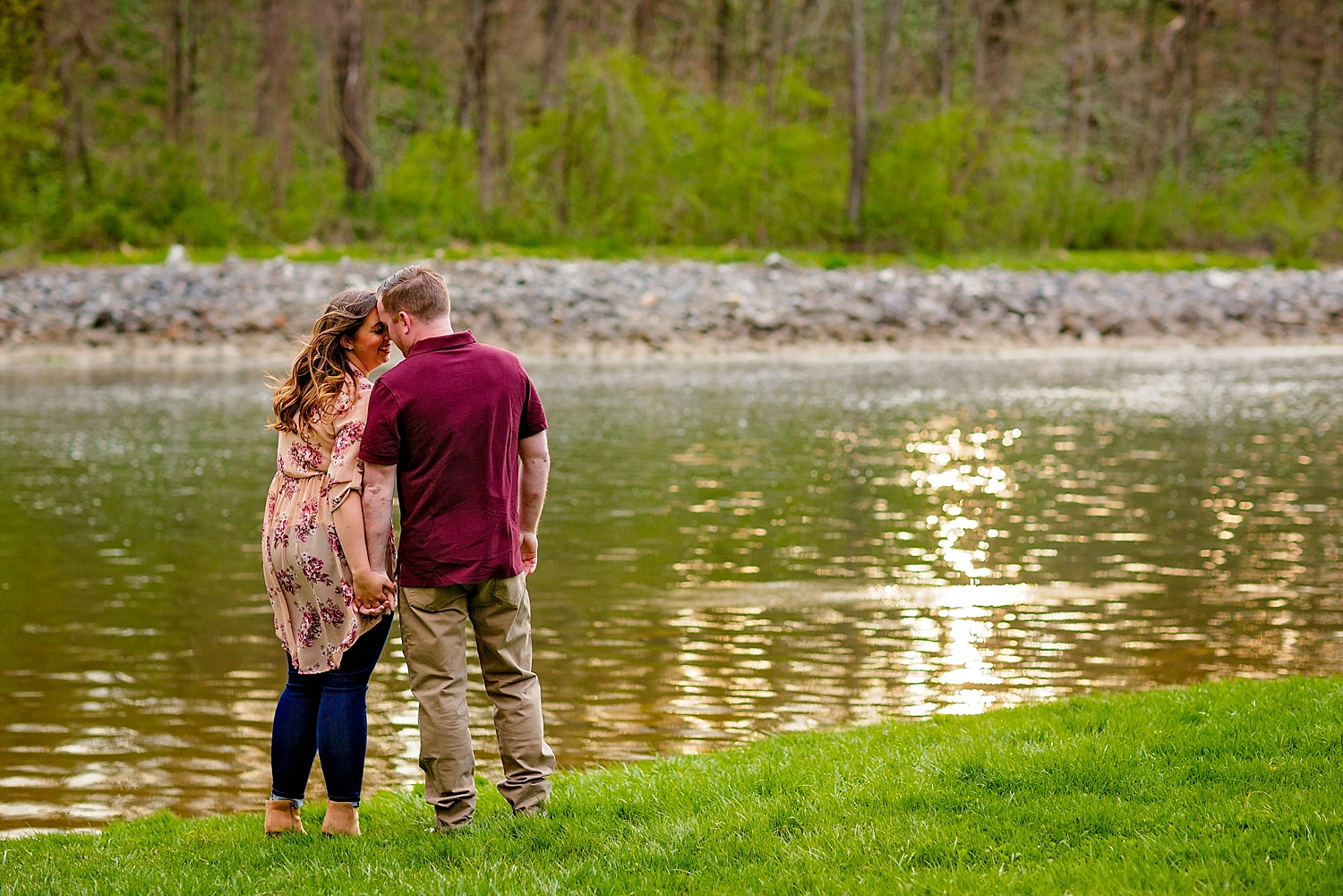 Blue Marsh Stilling Basin engagement session Berks County wedding photographer