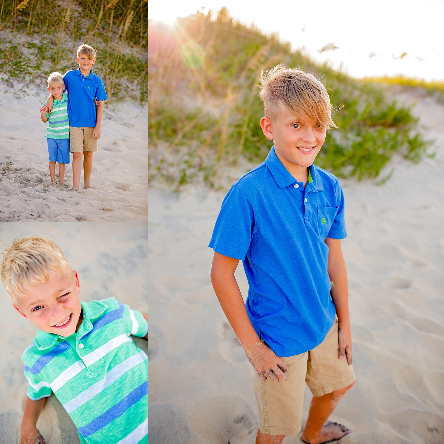 Outer Banks NC North Carolina beach family portrait session destination photographer