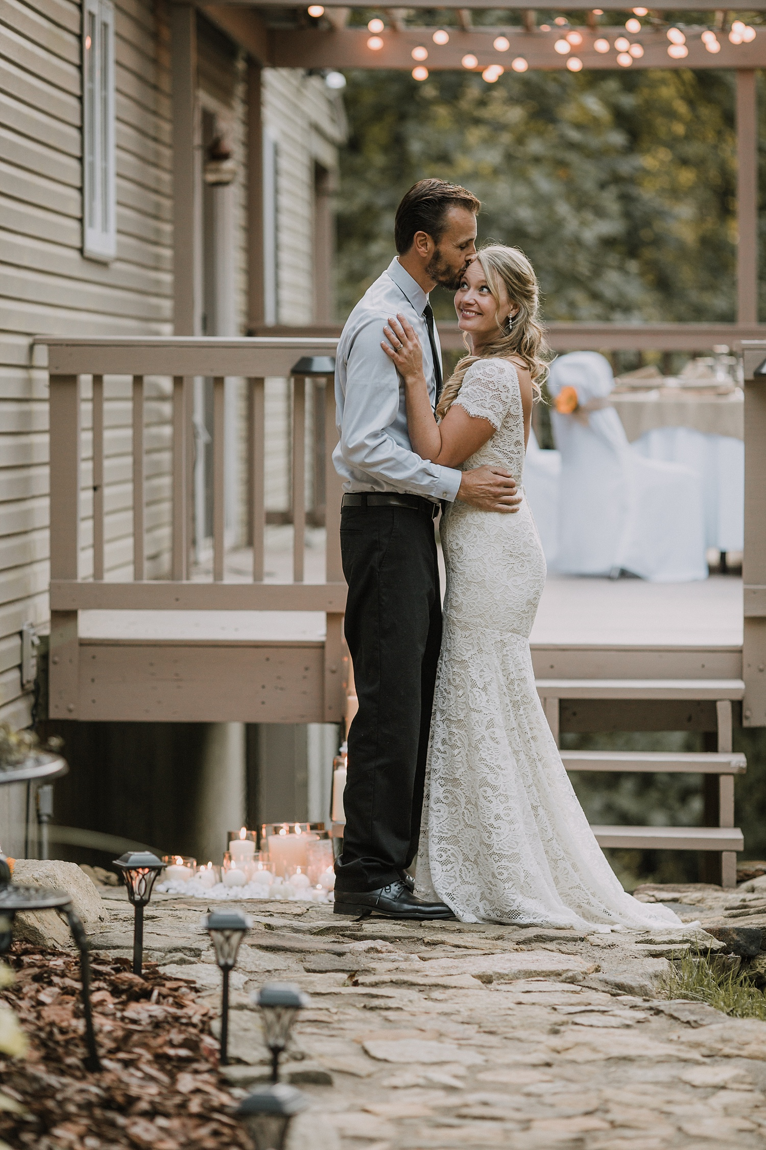 Lehigh Valley Alburtis Pennsylvania fall rustic intimate backyard wedding photographer