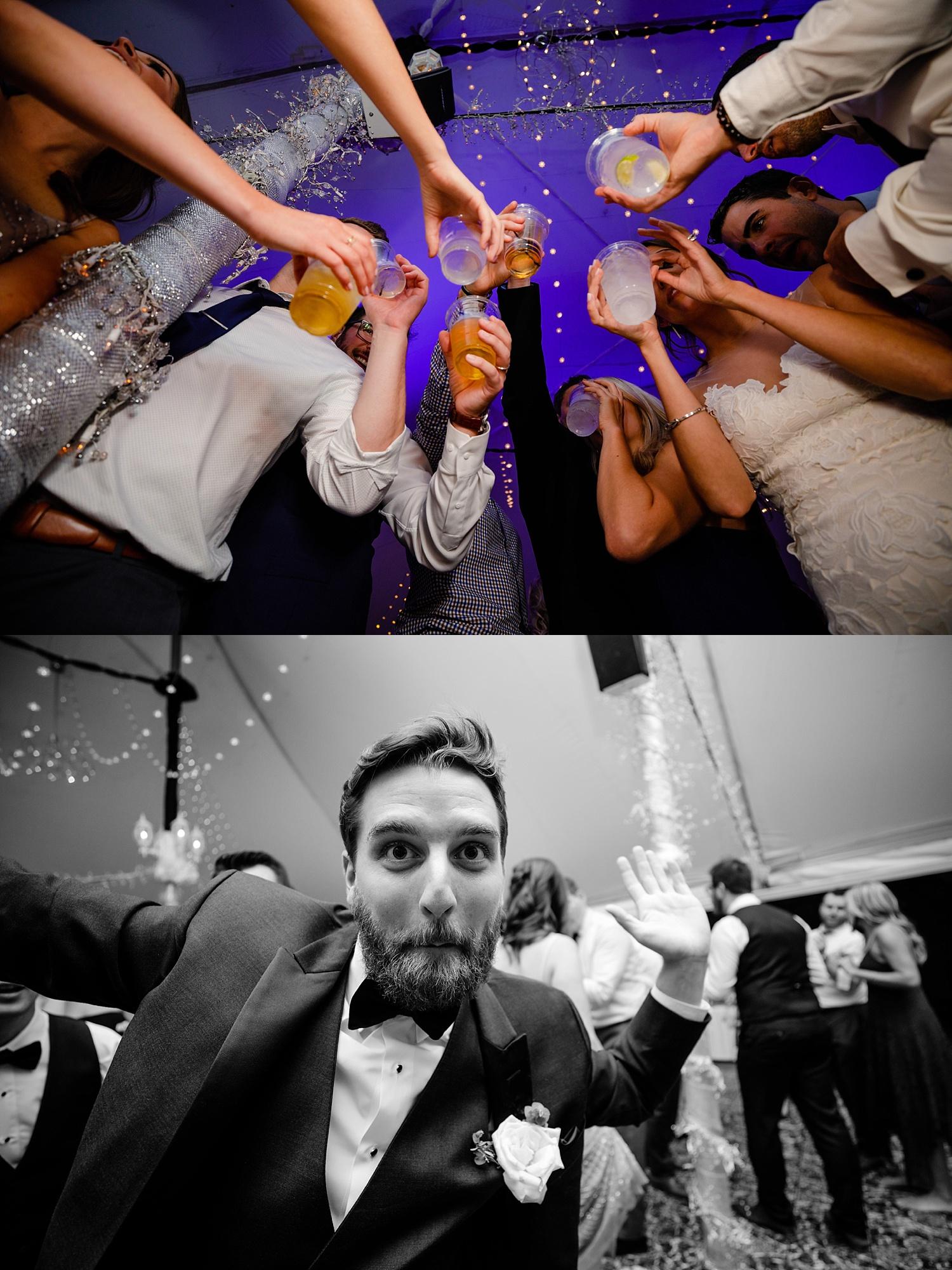 Chester Wedding Photographer Pennsylvania Meredith Manor autumn reception