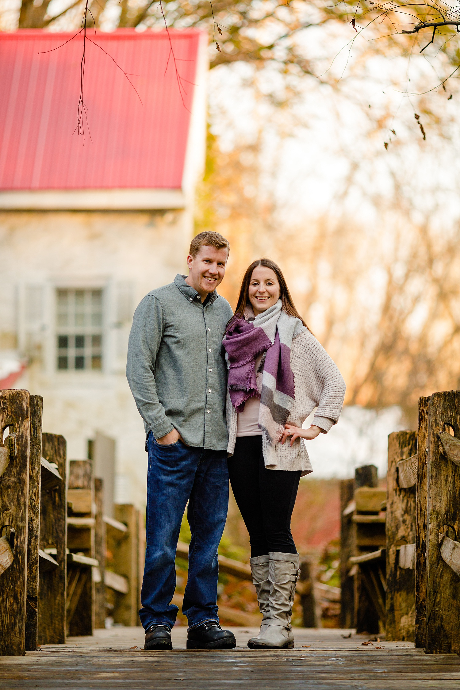 Kennett Square Pennsylvania engagement session wedding portrait photographer