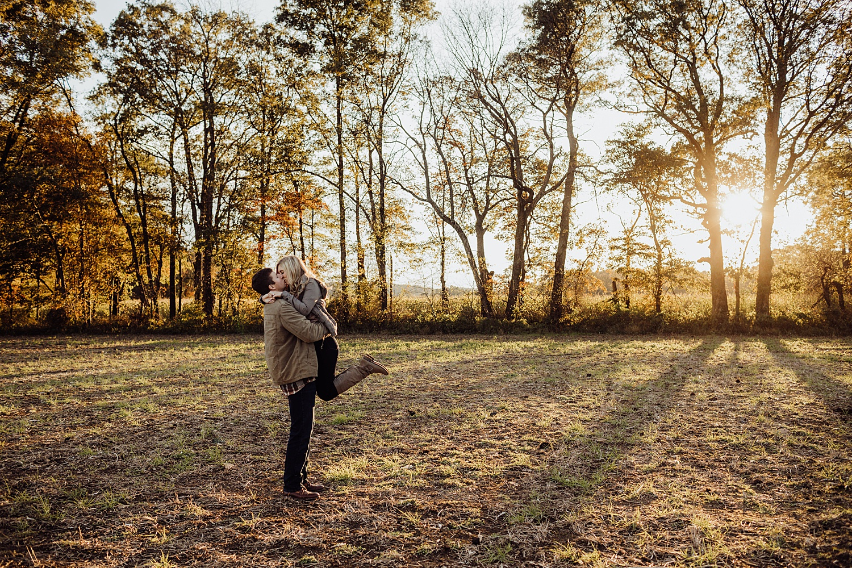 Lehigh Valley Pennsylvania engagement session portrait wedding photographer fall farm