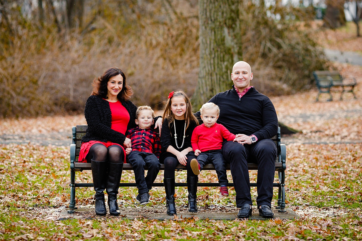 Mindowaskin Park Westfield New Jersey family portrait photoshoot photographer
