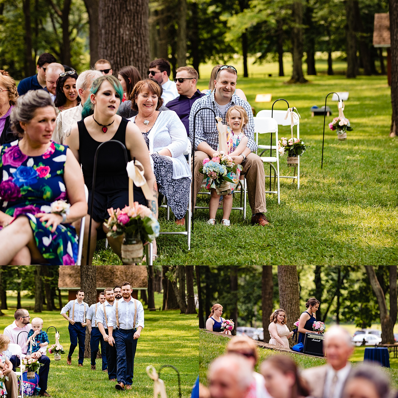 summer Tinicum Park Bucks County barn wedding photographer