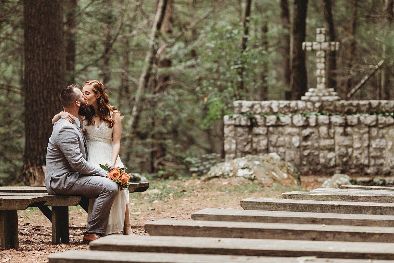 Camp Nawakwa Lutheran Biglerville Adams County Pennsylvania outdoor summer wedding photographer
