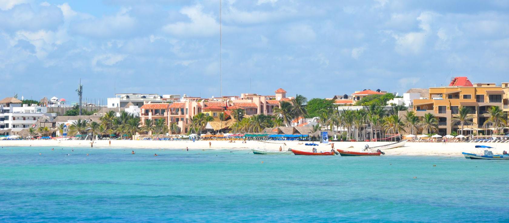 Playa del Carmen - Propiedades frente al mar y la Quinta Avenida