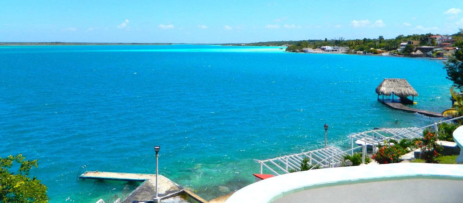 Bacalar - The most beautiful lagoon in The Mayan Coast