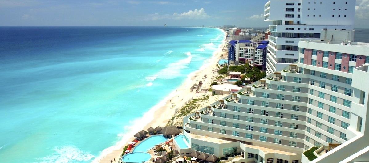Cancun - Condominios y Casas Frente al mar o la laguna