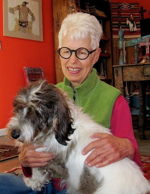 Our Board of Directors  gave a gift in honor of  Marsha Wiener,  who has been vital to our success. She has been a stalwart volunteer for many years, most recently acting as volunteer wrangler and scheduler. Here she is with  Lottie , her latest rescue dog, one of 6 over the last 27 years. She is already looking for opportunities to help out the shelter in her new town. We will miss her!