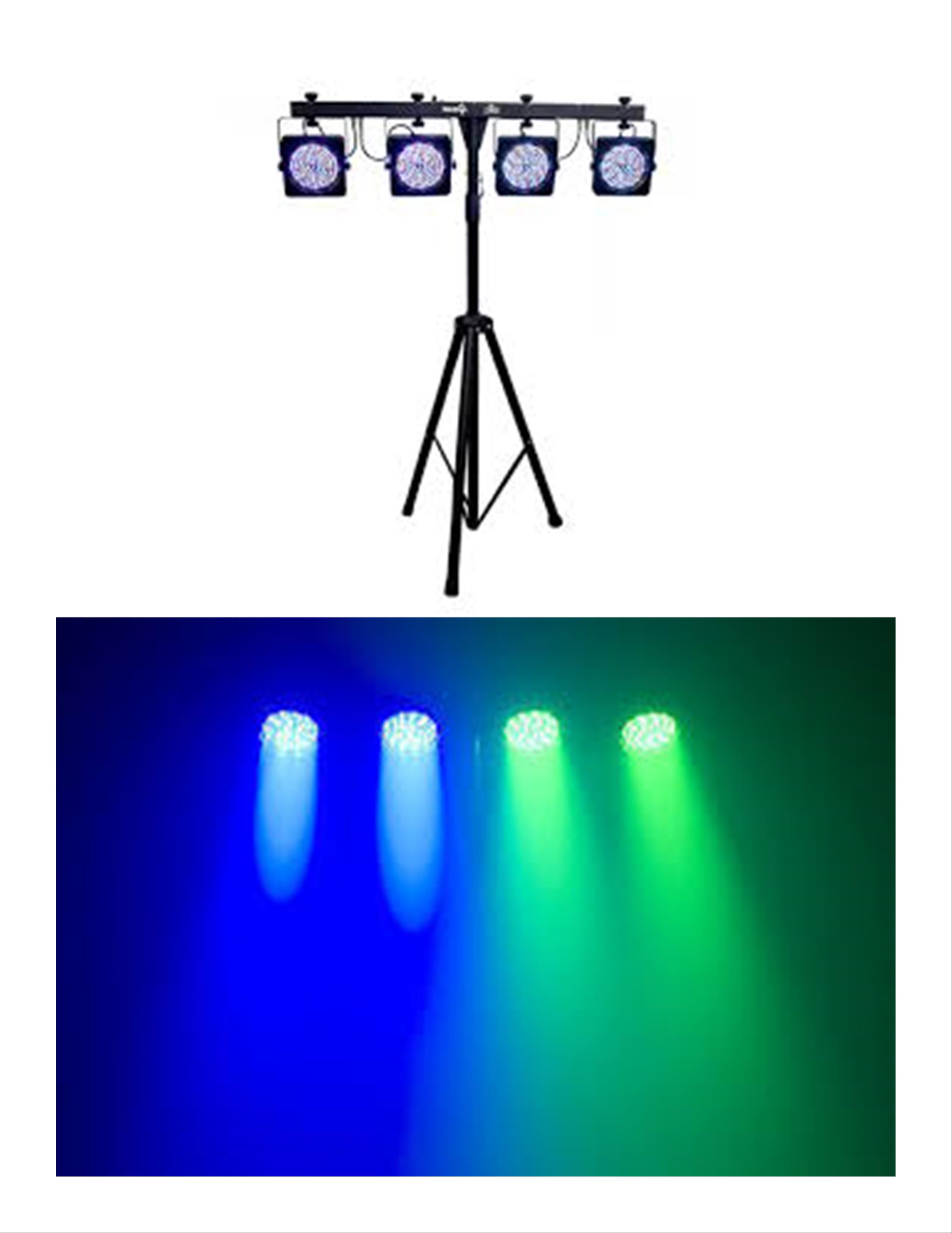 Party Lights$50.00 + TAX - Sound activated light bar.