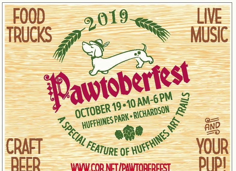 October 19, 2019 - Huffhines Park10 AM - 6 PM(Click image for more details.)
