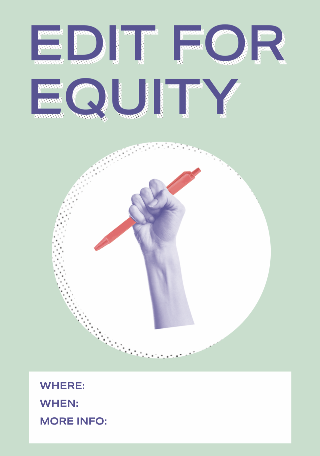 Edit for Equity poster image