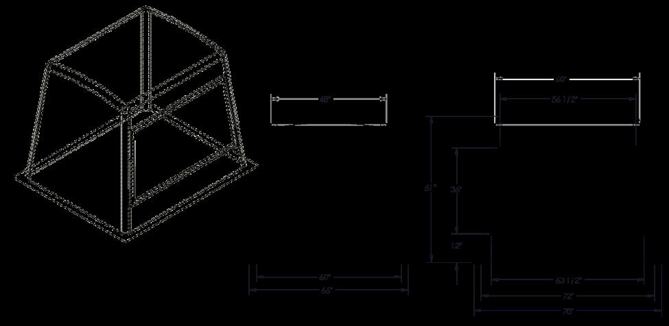 655 Fiberglass Enclosure Drawing
