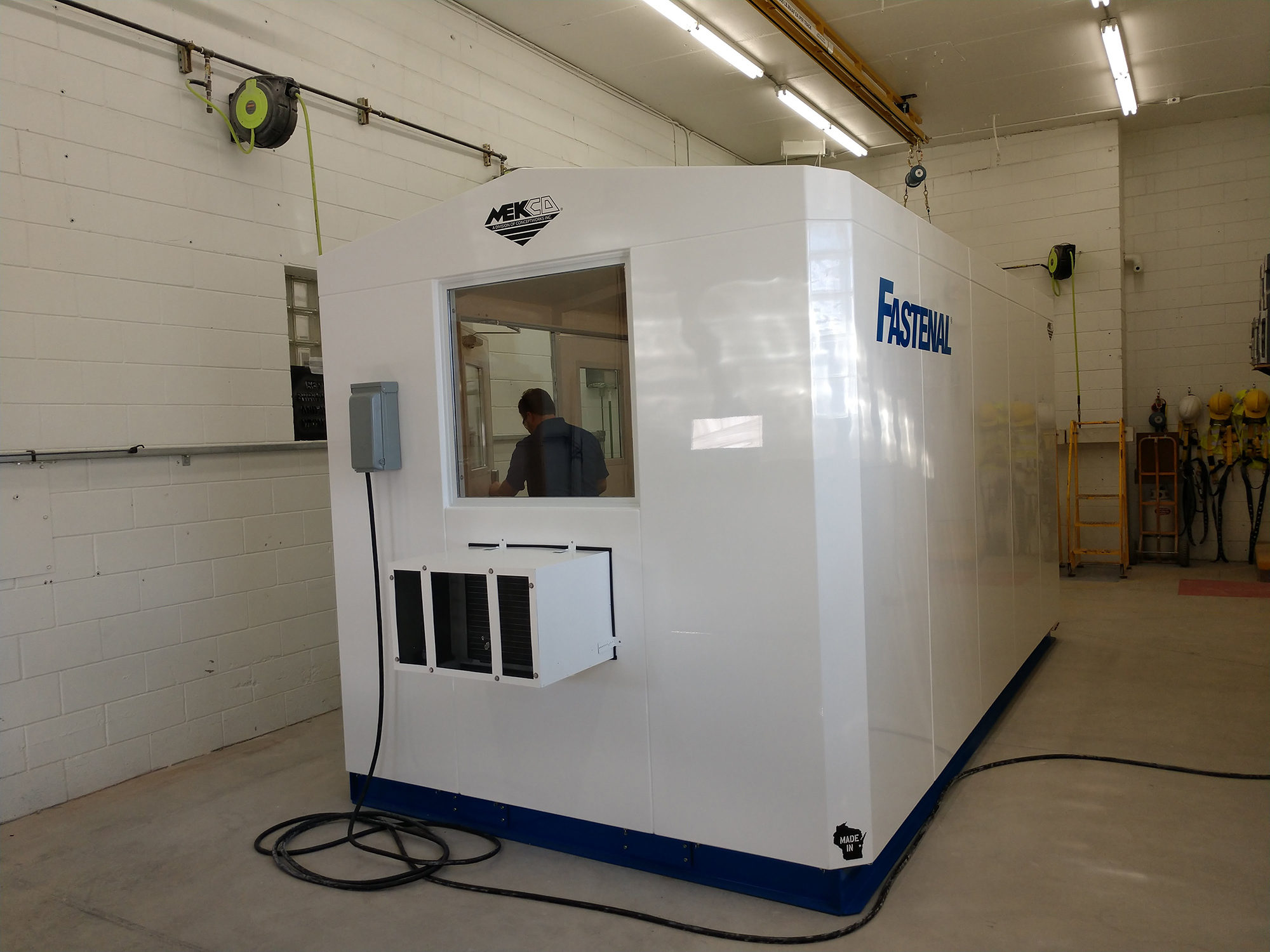 Mekco Onsite System - Exterior Side View