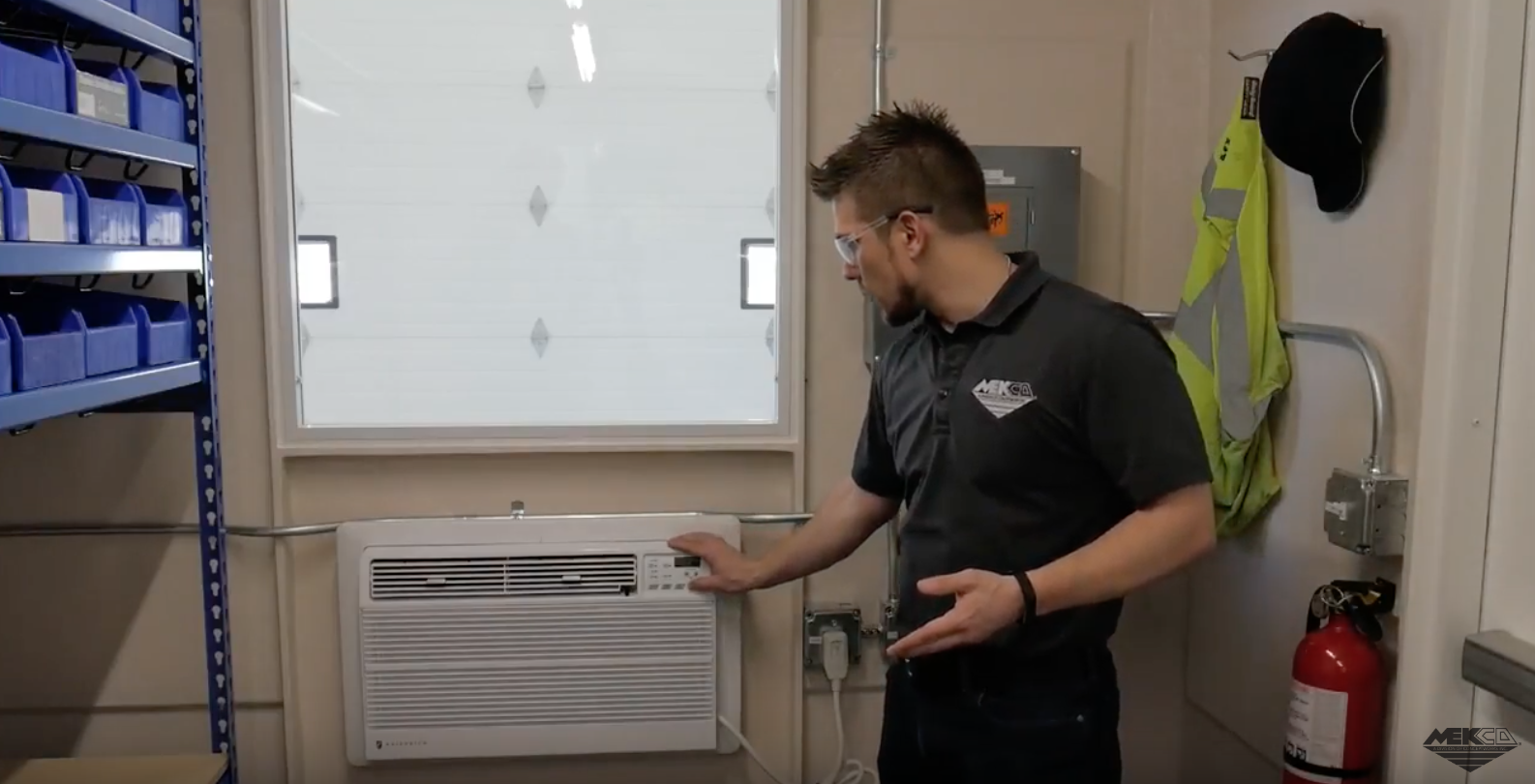 Onsite system air conditioning unit