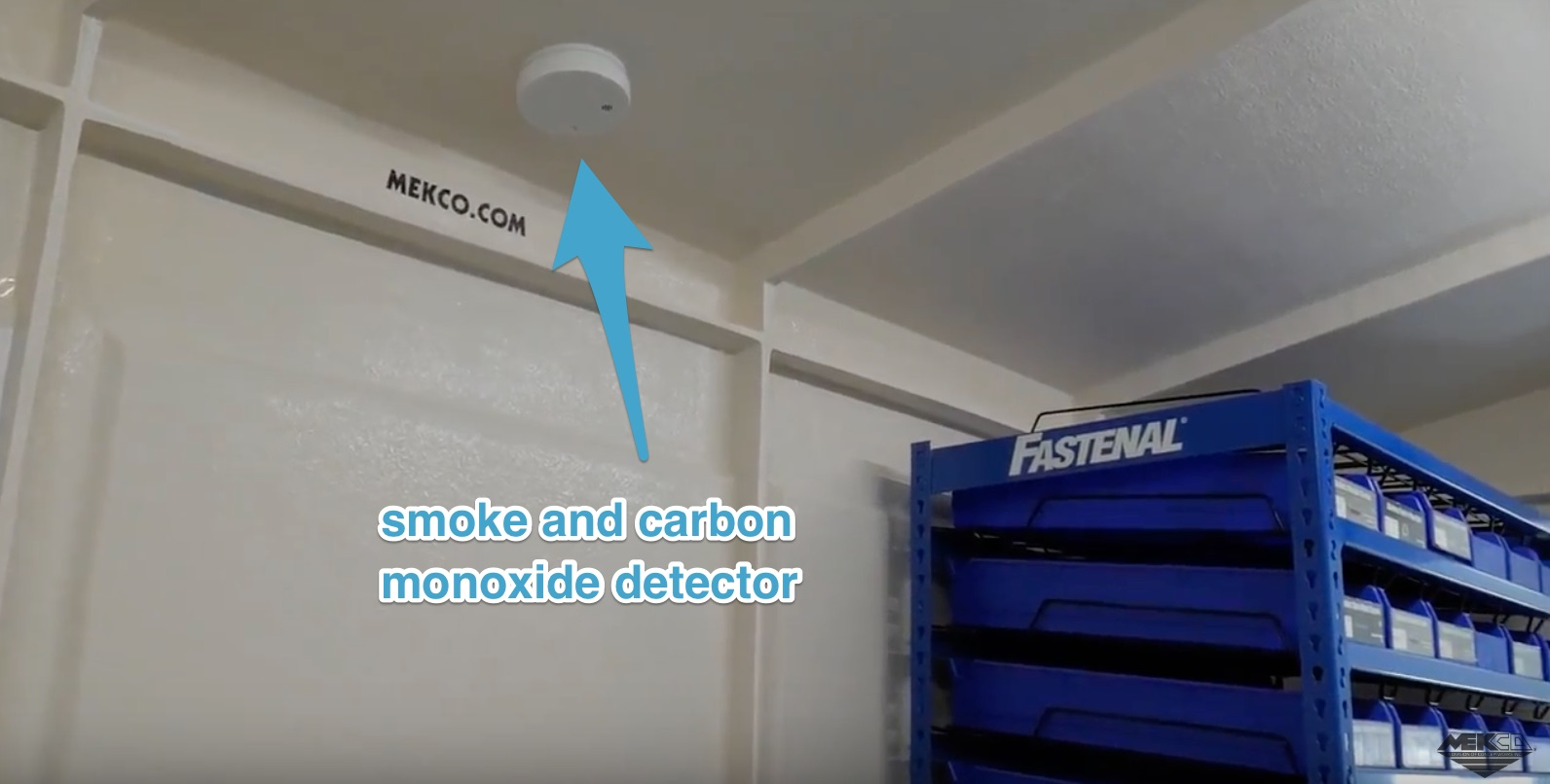 The onsite system smoke and carbon monoxide detector