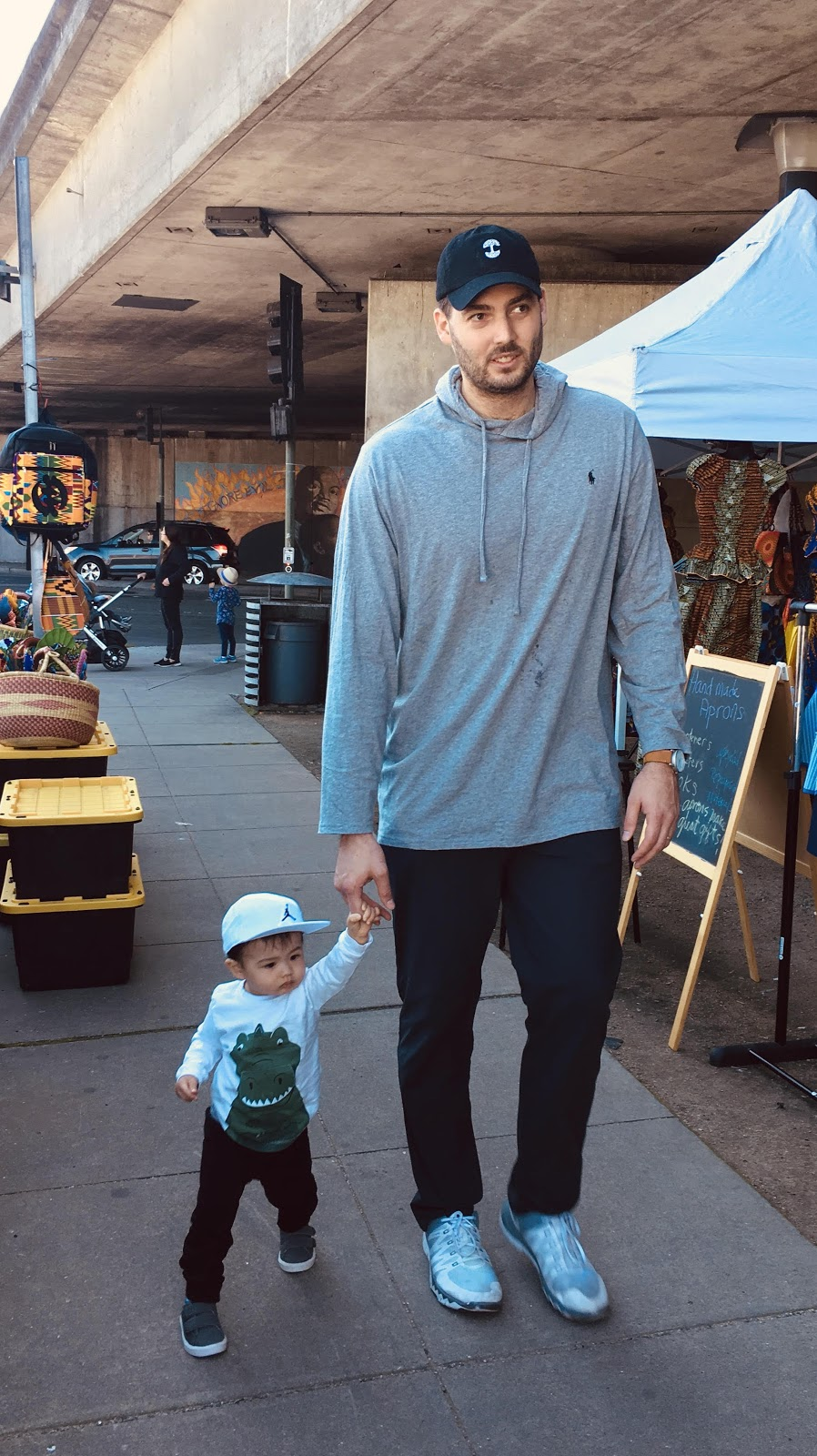 Me with my 15 month-old son, Spencer.