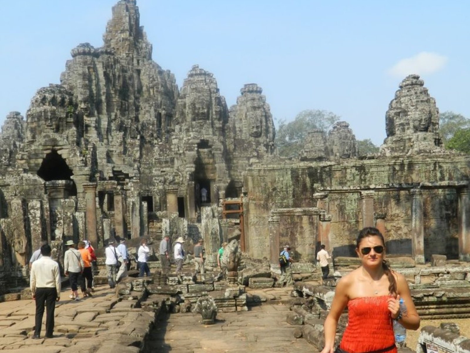 Exploring ancient temples in Cambodia