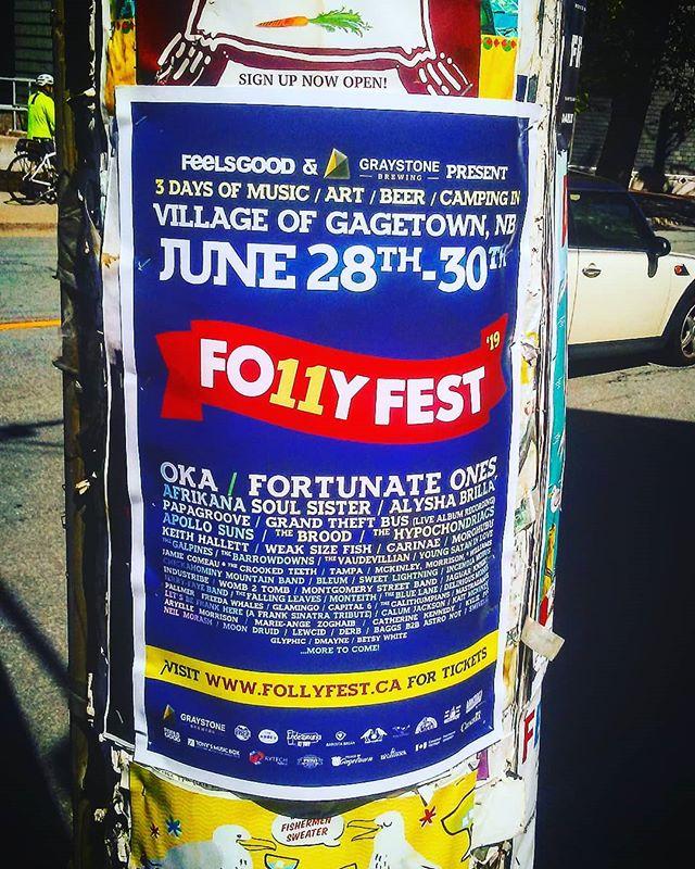 Only a few weeks till Folly Fest!! 💛💙💜💚 #festivalseason