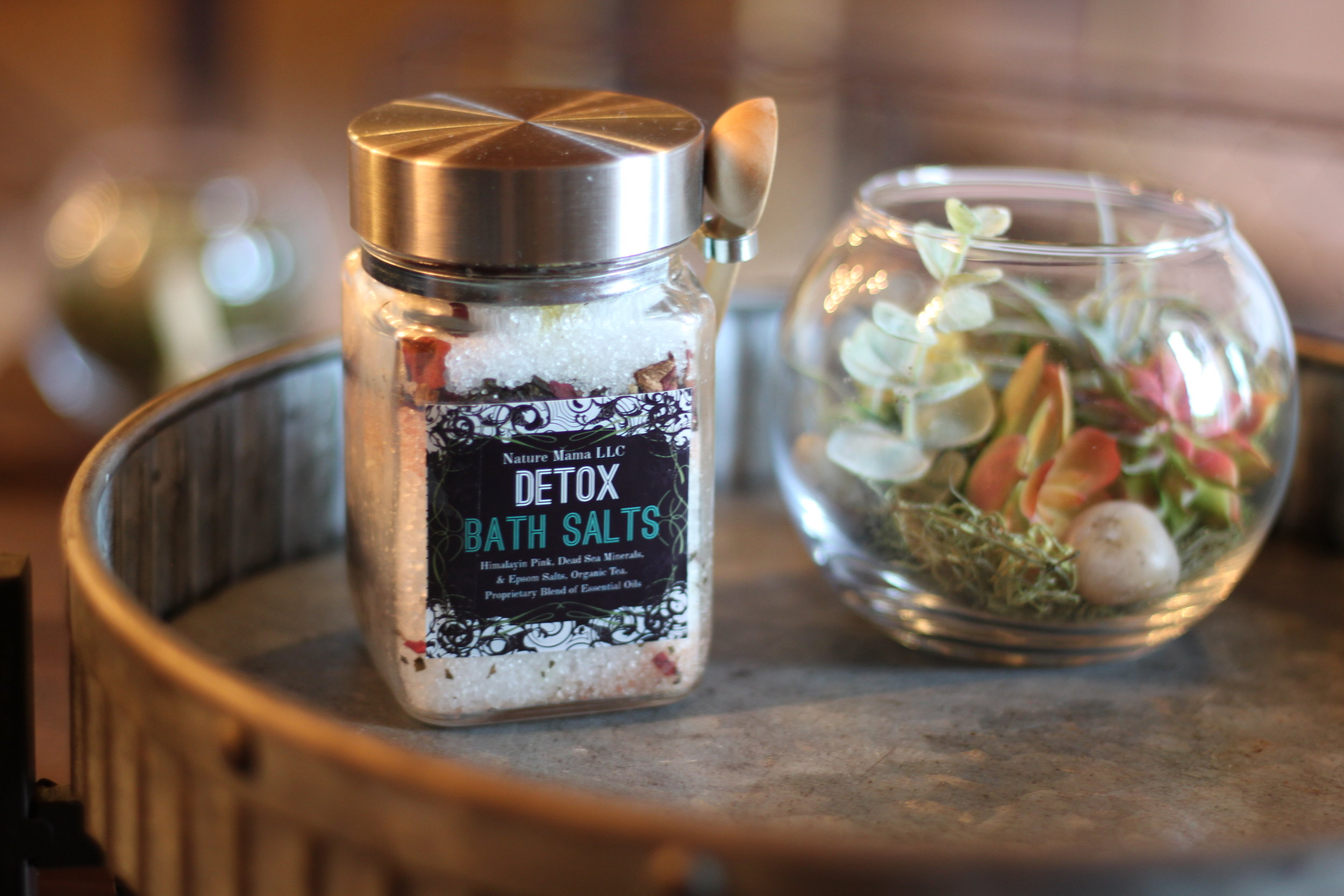 Therapeutic Detox Bath Salts