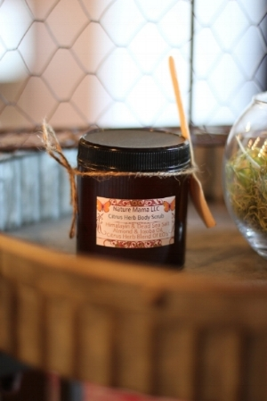 Citrus Herb Body Scrub