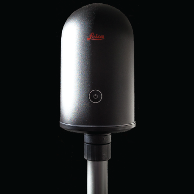 The Leica BLK360 is the lightest 3D Laser Scanner in the field.
