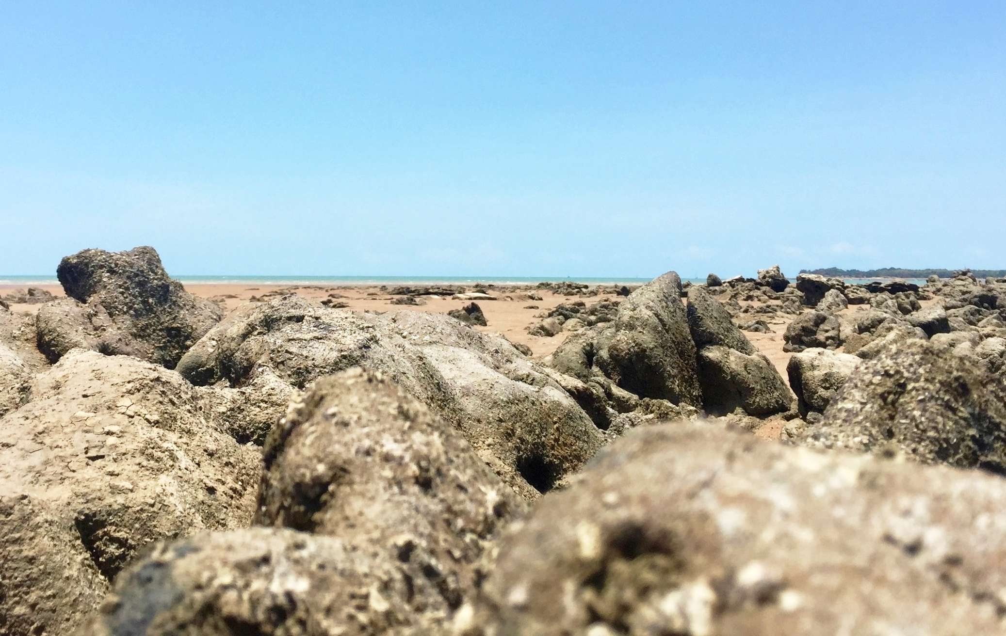 Low tide, Mindil Beach.