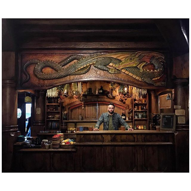 This time last year, September 22nd, I got the chance to pour myself a few beers behind the bar at the Green Dragon in Hobbiton, NZ; today I'm pouring beer for @jwakefieldbeer at The Great American Beer Festival in Denver, CO. Wild.