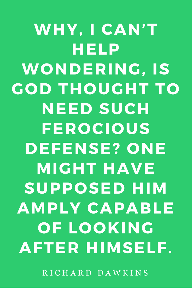 The God Delusion by Richard Dawkins Science Religion Philosophy Quotes Defense