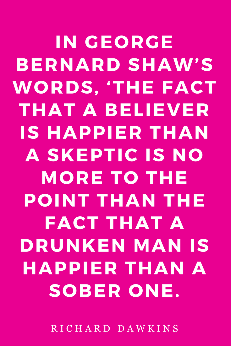The God Delusion by Richard Dawkins Science Religion Philosophy Quotes Believer