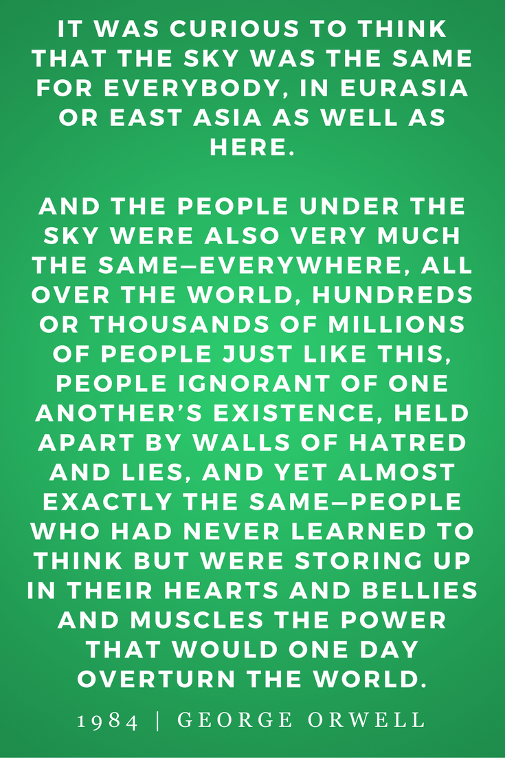 1984 by George Orwell, Quotes, Books, Inspiration, Unity