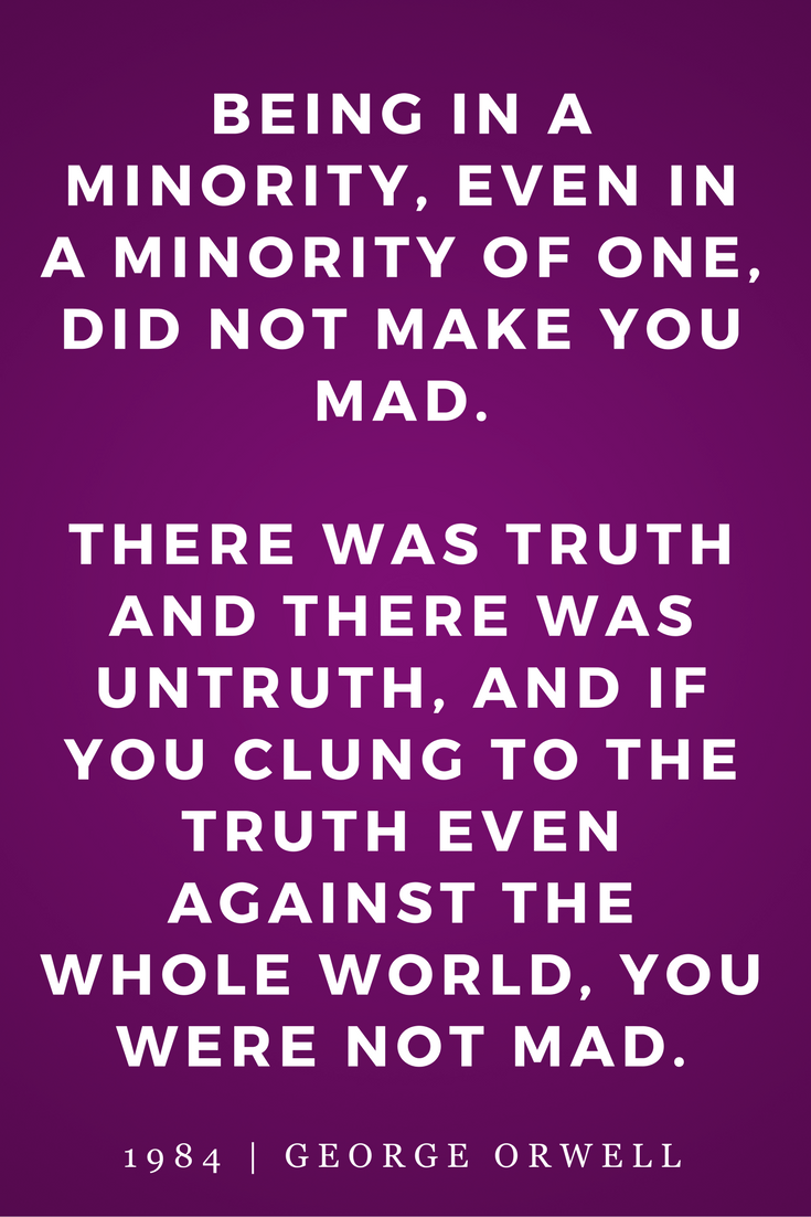 1984 by George Orwell, Quotes, Books, Inspiration, Truth, Madness