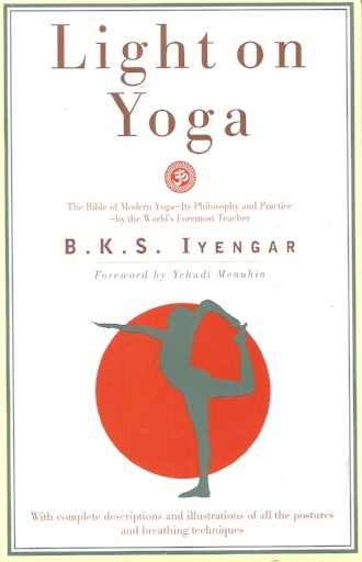 Light on Yoga by BKS Iyengar Postures Breathing Techniques Asana Inspiration Wellness Books.jpg