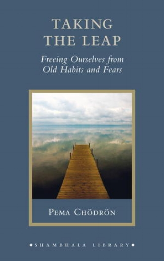 Taking the Leap Freeing Ourselves from Old Habits and Fears by Pema Chodron Inspiration Motivation.jpg