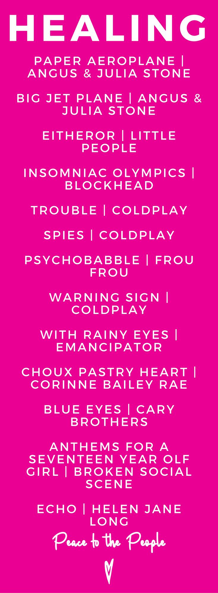 Healing Music Playlist Relaxing Calming Yoga Coldplay Broken Social Scene.png