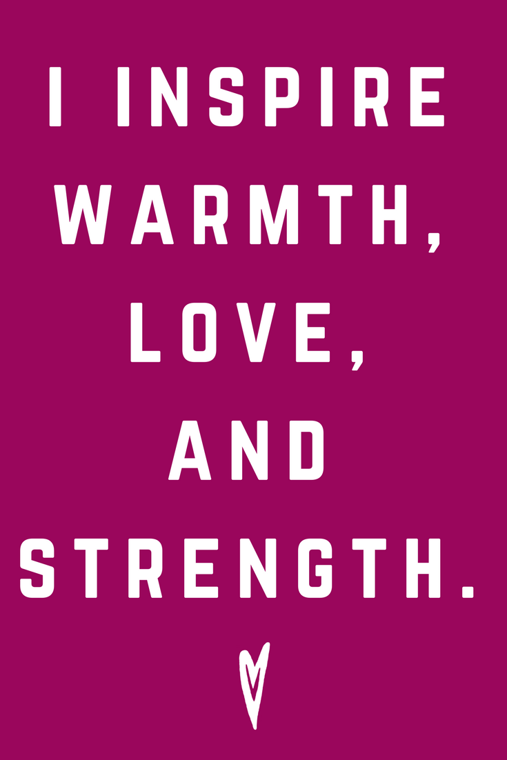 I Inspire Warmth Love and Security • Quote Inspiration Mantra Positive Affirmation Peace to the People • #affirmations #inspiration #selflove.png