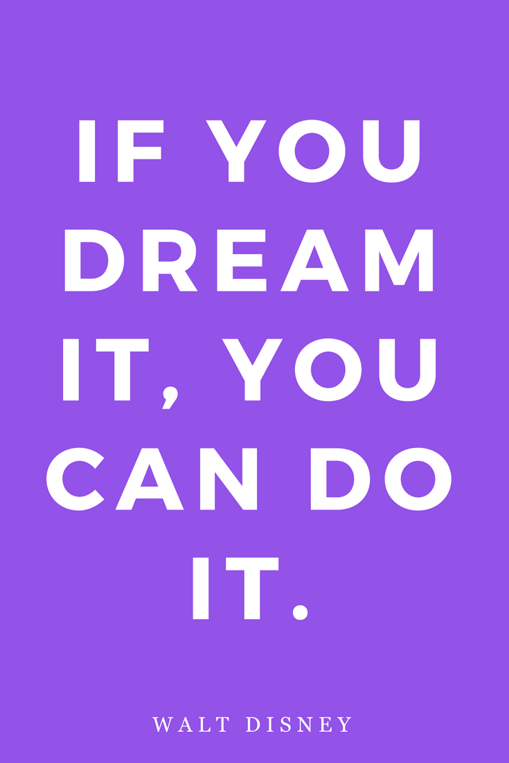 Walt Disney, Dreams, Inspiration, Quotes, Books, Goals.png