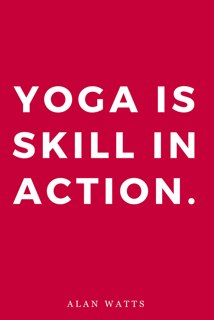 Yoga, Skill, Action, Alan Watts, Inspiration, Quotes, Books.png